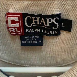 Vintage Chaps Ralph Lauren collab polo.